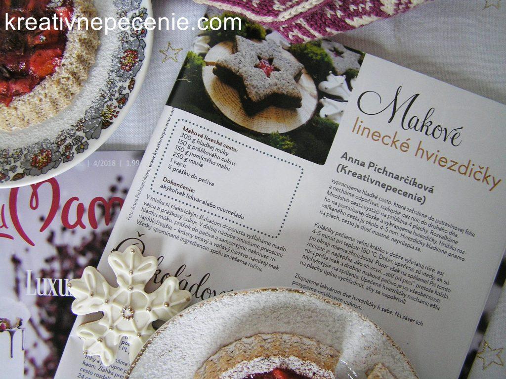 63e94b09f1 Už ste videli nové číslo časopisu Torty od mamy  Nájdete tam veľké množstvo  výborných receptov na zimno-vianočné pečenie